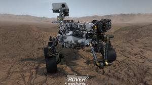 Perseverance Mars Robot Mars Rover Rover NASA Video Game Art JPL Jet Propulsion Laboratory 3840x2688 Wallpaper
