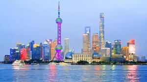 City Oriental Pearl Tower Skyline Skyscraper 4032x3024 Wallpaper