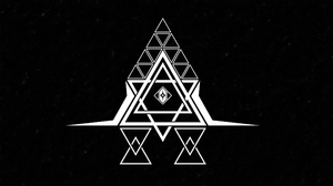 Typography Abstract Graphic Design Illuminati The All Seeing Eye Trap Music Trance Floating Particle 3840x2160 Wallpaper