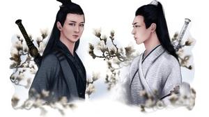Li Bo Wen Song Ji Yang Song Lan Xiao Xingchen 1920x1184 Wallpaper