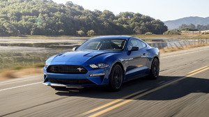 Blue Car Car Ford Ford Mustang Ford Mustang Ecoboost Muscle Car 1920x1080 Wallpaper