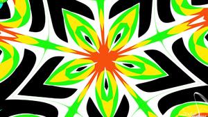 Artistic Colorful Colors Digital Art Kaleidoscope Pattern Shapes 1920x1080 Wallpaper