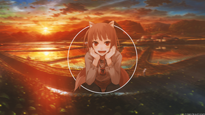 Holo Spice Amp Wolf 3840x2160 Wallpaper