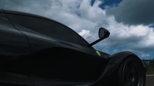 Ferrari LaFerrari Hypercar Forza Horizon 4 PlaygroundGames Car Ferrari Vehicle Black Cars Video Game 3003x2160 Wallpaper