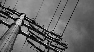 Monochrome Power Lines Infrastructure Landscape Utility Pole 3478x1956 Wallpaper