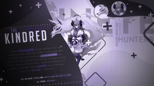 Kindred League Of Legends 3840x2160 wallpaper