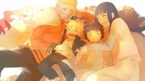 Naruto Boruto Uzumaki Himawari Uzumaki Hinata Hy Ga Naruto Uzumaki 4251x3507 Wallpaper