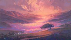 Nimiszu Digital Landscape 1600x1067 Wallpaper