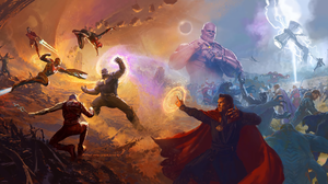 Avengers Avengers Infinity War Black Panther Marvel Comics Captain America Doctor Strange Falcon Mar 2160x1080 Wallpaper