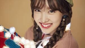 K Pop Twice Women Asian Singer Christmas Warm Colors Twice Nayeon 3000x2000 Wallpaper