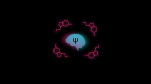 Cyan Magenta Brain Anatomy Black Background Dark Background Biology Chemistry Particle Chemical Stru 2500x1562 Wallpaper
