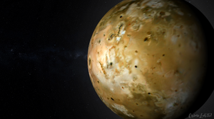 Planet Io Moon 3D Graphics Watermarked 1920x1080 Wallpaper
