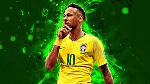 Brazilian Neymar Soccer 2880x1800 Wallpaper