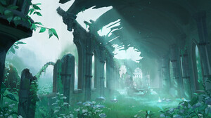 Fantasy Art Artwork Video Game Art The Legend Of Zelda The Legend Of Zelda Breath Of The Wild 1500x971 Wallpaper