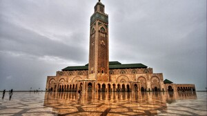 Hassan Ii Mosque Maghrib Morocco 2700x1700 wallpaper