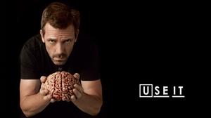 Brain Gregory House Hugh Laurie 1440x900 Wallpaper