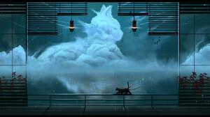 Artwork Fantasy Art Animals Cats Clouds 1920x1080 Wallpaper