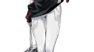 Anime Anime Girls ADS Active Defense Cat 1772x4074 wallpaper