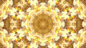 Abstract Artistic Digital Art Mandala Manipulation 1920x1080 Wallpaper