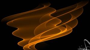 Abstract Artistic Digital Art Fractal Gold 1920x1080 Wallpaper