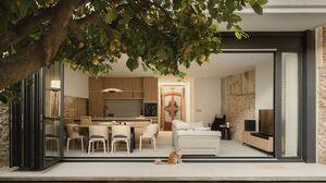 House Interior Interior Design Cats Kitchen Chair Door 2000x1267 Wallpaper