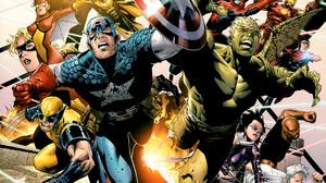 Captain America Hulkling Marvel Comics Iron Man Spider Man Vision Marvel Comics Wiccan Marvel Comics 2560x1720 Wallpaper