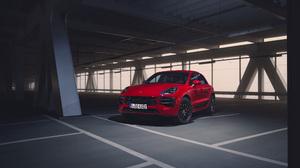 Car Luxury Car Porsche Porsche Macan Porsche Macan Gts Red Car Suv Vehicle 5040x3780 Wallpaper