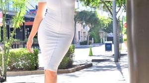 Women Blonde Tight Dress Dress 937x1280 Wallpaper