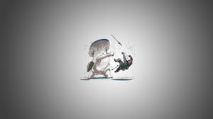 Dark Souls Knight Sword Mushroom Digital 3840x2160 Wallpaper