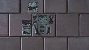 Simple Stickers Wall Tile Tiles Abandoned 5519x3827 Wallpaper