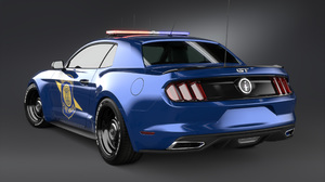 Car Ford Ford Mustang Ford Mustang Notchback Muscle Car Police Car Vehicle 2560x1600 Wallpaper