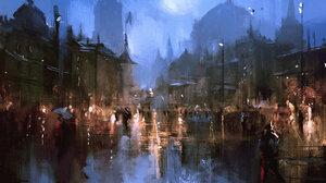 Artistic City 1920x1200 Wallpaper