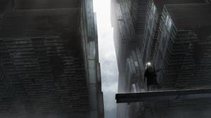 City Mist Asteroid Artist 3000x1500 wallpaper