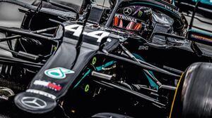 Lewis Hamilton Black Cars Formula 1 Mercedes AMG Petronas Racing Vehicle Race Cars Car Sport Sports 2000x1125 Wallpaper