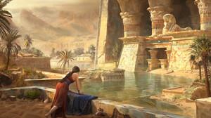Fantasy Egyptian 3840x1600 Wallpaper