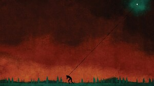 August Burns Red Metal Music Artwork Abstract Sunset Moon Painting Sky 1920x1080 Wallpaper