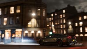Forza Horizon 4 Ford Mustang Night City Car 1920x1080 Wallpaper