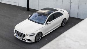Car Luxury Car Mercedes Benz Mercedes Benz S Class White Car 4961x2791 Wallpaper