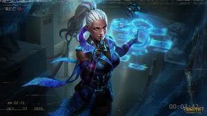 Smite Watermarked Yemoja Smite Hologram Mythology 3840x2160 Wallpaper