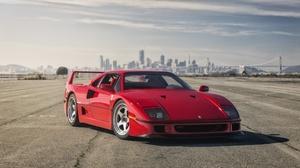 Car Ferrari Ferrari F40 Red Car Sport Car Supercar Vehicle 2048x1152 wallpaper
