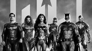 Zack Snyders Justice League Superman Aquaman Wonder Woman The Flash Batman Cyborg DC Comics HBO Max  2025x3000 Wallpaper