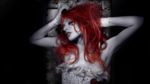 American Entropy Fall Red Hair Singer 1920x1080 Wallpaper