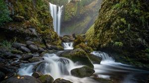 Nature Stream Rock 6174x4116 Wallpaper