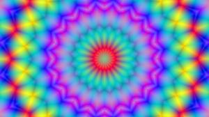 Blur Colorful Digital Art Kaleidoscope 4000x3000 Wallpaper