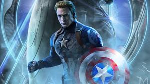 Avengers Endgame Captain America Chris Evans Steve Rogers 3000x1688 Wallpaper