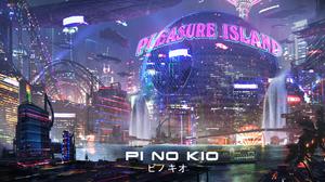Cyberpunk Cityscape 2500x1136 Wallpaper