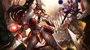 Irelia League Of Legends Syndra League Of Legends 2034x1438 Wallpaper