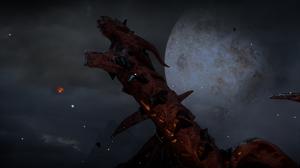 Dragon Age Inquisition Dragon Age Corypheus Dragon Moon Bad Guys Video Games PC Gaming 2550x1436 Wallpaper