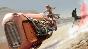 Kylo Ren Rey Star Wars Star Wars Episode Vii The Force Awakens 1920x1144 Wallpaper