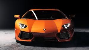 Car Lamborghini Lamborghini Aventador Orange Car Sport Car Supercar Vehicle 1920x1081 Wallpaper